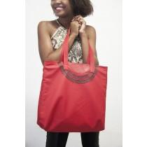 Bolsa de lado artesanal - Modelo Pedregulho vermelha